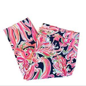 Lily Pulitzer | Floral Bright Pants Sz 12